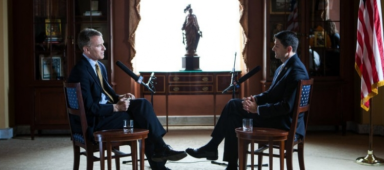 NPR's Interview With House Speaker Paul Ryan On Poverty And Politics